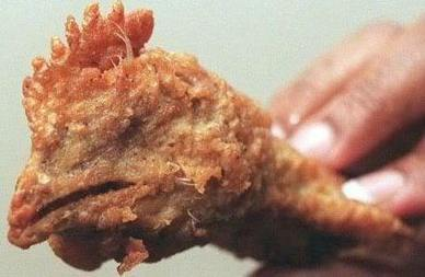 Cooking with: Fried Chicken Heads | The VALiens | Scoop.it