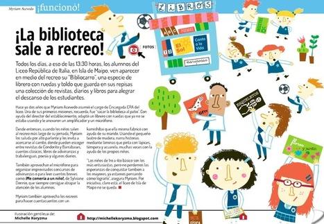 La Biblioteca sale al recreo (experiencia) | Bibliotecas Escolares Argentinas | Scoop.it