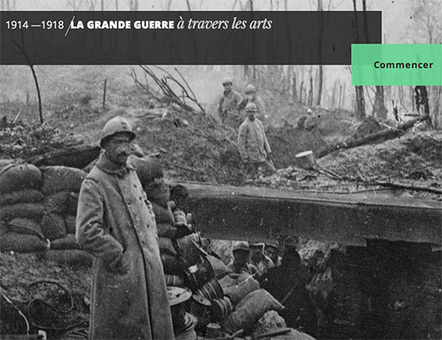 La Grande Guerre à travers les arts : webdocumentaire | La Grande Guerre | Scoop.it