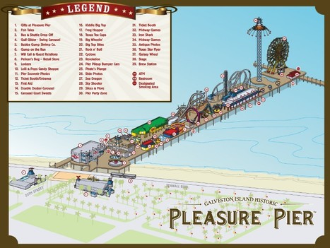 Galveston Island Historic Pleasure Pier is Open | Texas Coast Real Estate | Scoop.it