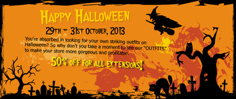 Happy Halloween with 50%-off discount for all extensions at Magebuzz! | Magento extensions | Scoop.it