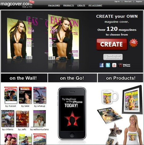 MagCover: Magazine Cover - Create your own Mag Cover! | Better teaching, more learning | Scoop.it
