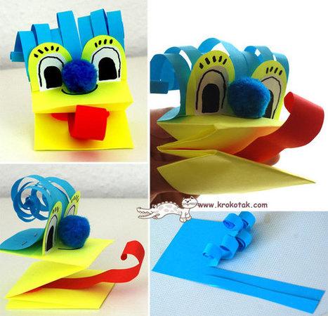 Marionetas para manos | Manualidades para niños | Scoop.it