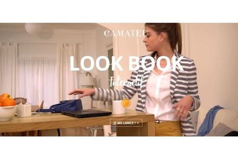 Camaïeu dévoile sa nouvelle collection via un lookbook digital | Digital inspirations | Scoop.it