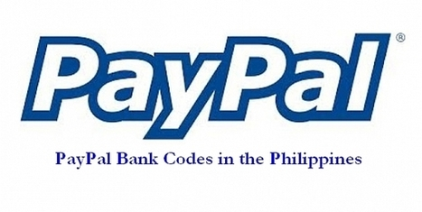 Paypal Bank Codes (Philippines) – How to Withdraw Funds from Paypal   Make Money   Scoop.it