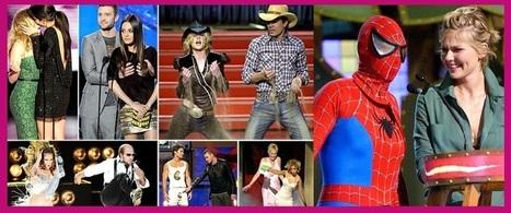 MTV Movie Awards' Funniest Moments! | Celebrity Gossip | Scoop.it