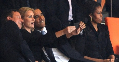 Another perspective on Obama's Funeral Selfie: Why Context Matters | The Social Media Learning Lab | Scoop.it