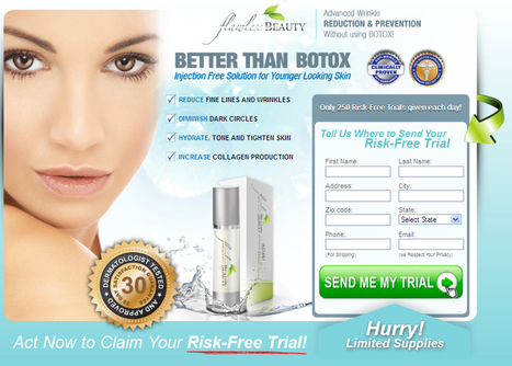 Flawless Beauty Instant Wrinkle Reducer Review - Free Trial Available | the solution for all skin aging problems | Scoop.it