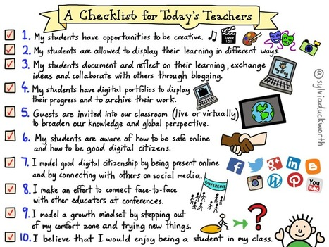 Teaching In 2017: A Checklist For 21st Century Teachers - | TeachThought | Scoop.it