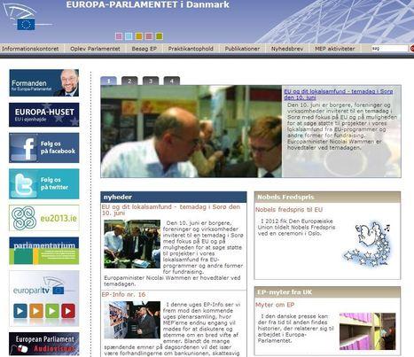 EUROPA-PARLAMENTET i Danmark | Europa-Parlamentet | Scoop.it