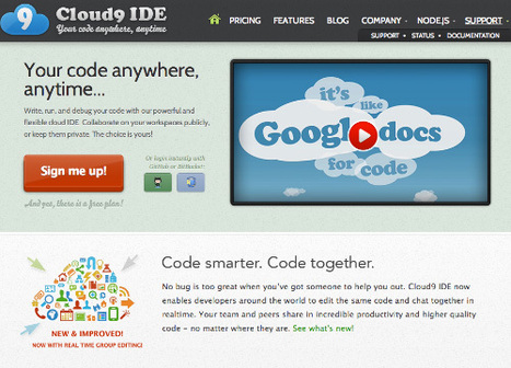 Cloud IDEs For Web Developers – Best Of   cloud tools   Scoop.it