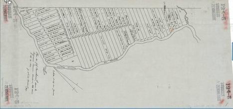 Trésor des archives : plan d'une partie de la seigneurie de Barrow (St-Hughes), Bas-Canada | Généalogie en tête | Auprès de nos Racines - Généalogie | Scoop.it