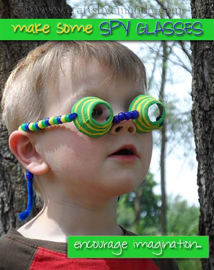 Egg Carton Spy Glasses - Crafts by Amanda | Craft and other ideas | Scoop.it