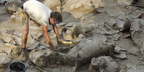 Ancient Wine Cellar Unearthed In Israel Shows Canaanites Enjoyed ... - Huffington Post | Greek & Roman History | Scoop.it