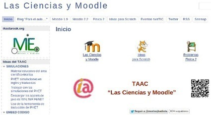 Las Ciencias y Moodle | Aprendiendo a Distancia | Scoop.it