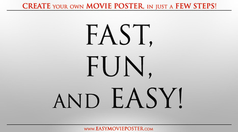 Easy Movie Poster | Animations, Videos, Images, Graphics and Fun | Scoop.it