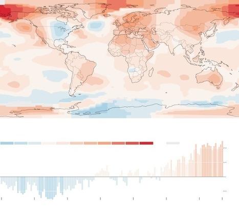 2014 Breaks Heat Record, Challenging Global Warming Skeptics   Technology   Scoop.it