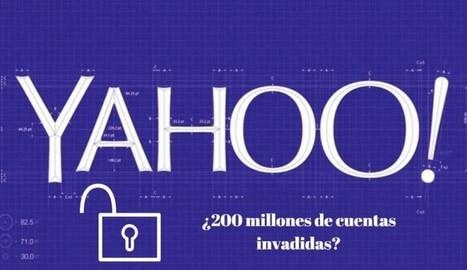 Es posible que se hayan filtrado 200 millones de cuentas de Yahoo | Aprendiendoaenseñar | Scoop.it