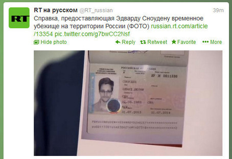 Edward Snowden skips into Russia as Putin grants him asylum • The Register | Cyber Development | Scoop.it