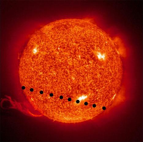 Για το μάθημά μας στην Πληροφορική » Διάβαση της Αφροδίτης μπροστά από τον Ήλιο στις 5 και 6 Ιουνίου 2012 | ICT in Education | Scoop.it