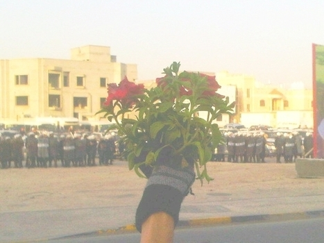 Bahraini regime 'attacked' with flowers!........again they respond with Toxic gas against unarmed civilians | Human Rights and the Will to be free | Scoop.it