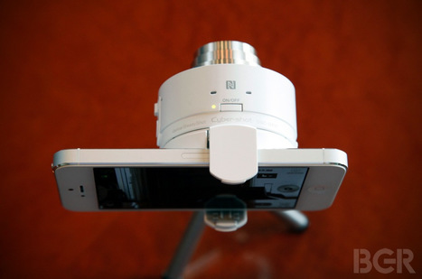 Hands on: Sony's new QX10 and QX100 turn any iPhone, Android phone into a Cyber-shot camera | Other cool stuff | Scoop.it
