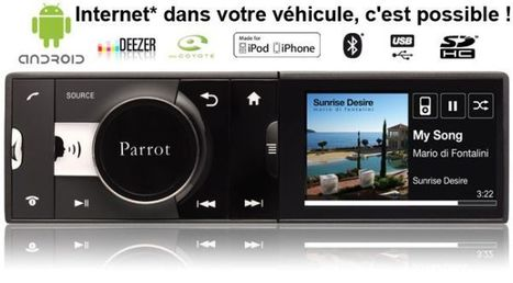 Autoradio MP Parrot Asteroid sur Sebastoautoradio.net | Super ecommerce | Scoop.it