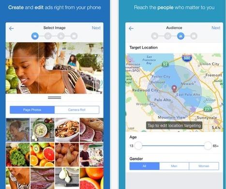Facebook lance son application Gestionnaire de publicités pour Android et iOS   Pascal Faucompré, Mon-Habitat-Web.com   Scoop.it