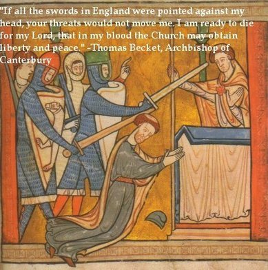 Traveling Templar: Saint Thomas a Becket | From Henry II to Edward I, in point of fact, the Plantagenets! | Scoop.it