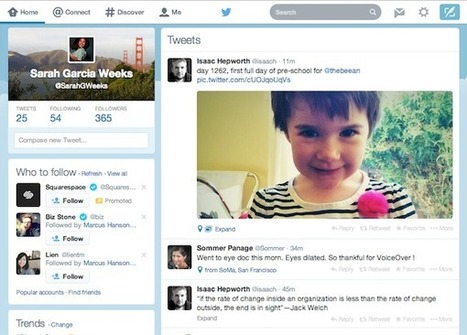 Twitter's new web site design: Love it, or hate it? - GeekWire | Web Design | Scoop.it