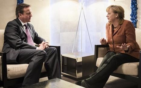 EU referendum speech: why Angela Merkel needs David Cameron, but not at ... - Telegraph.co.uk | OneEurope | Scoop.it
