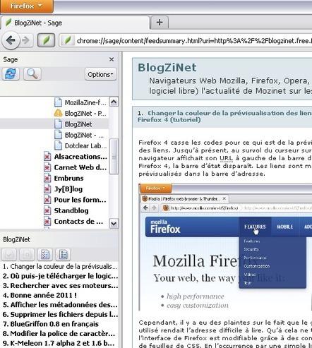 Firefox#3: la gestion de sa veille informationnelle | Mes outils numériques | Scoop.it