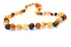 Amber Teething Necklace - Raw Baltic Amber Necklaces | Gourmet Garlic | Scoop.it