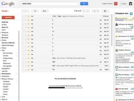 Twitter et Facebook dans Gmail, Hotmail et Yahoo avec Unifyo | Le Top des Applications Web et Logiciels Gratuits | Scoop.it