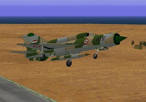 CFS Mikoyan-Gurevich MiG 21 Fishbed - Combat flight simulator Mikoyan-Gurevich MiG 21 Fishbed | Fan d'aviation | Scoop.it