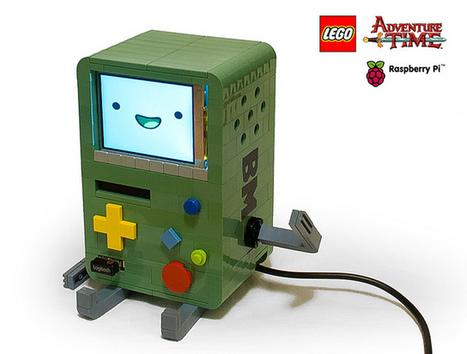 LEGO Adventure Time BMO powered by Raspberry Pi | Raspberry Pi | Scoop.it