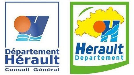 Le département de l'Hérault change de logo au bout de 17 ans   Languedoc Roussillon : actualité économique   Scoop.it