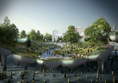 Thomas Heatherwick Greens Pier55 for New York's Lower West Side | green streets | Scoop.it