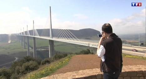 TF1 Replay : Le journal de 13h - Le viaduc de Millau franchit le cap des 10 ans | L'info tourisme en Aveyron | Scoop.it