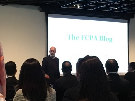 Takeaways from the Inaugural FCPA Blog Conference: A international development practitioner's… | Richard Bistrong | Scoop.it
