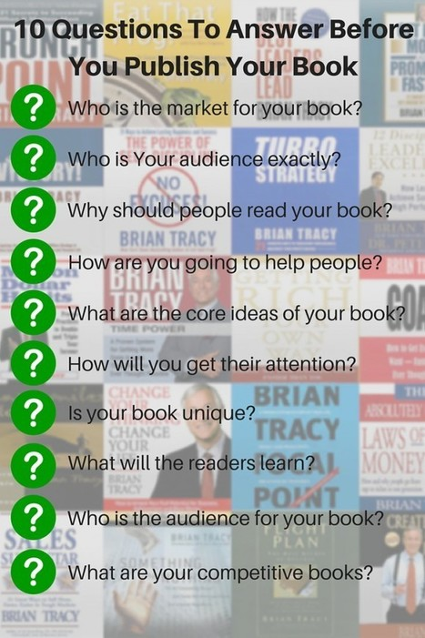 Publishing a Book? 10 Questions a Publisher Will Ask You | 102nd Place | Scoop.it
