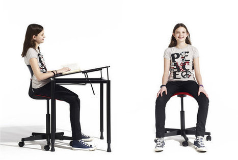 Ray: A School Furniture System Designed To Make Sitting Healthier | Education in and beyond the 21st Century | Scoop.it
