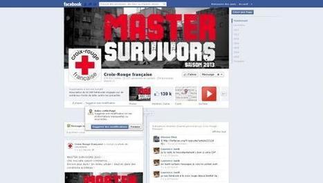 Master Survivors 2013, l'opération choc de la Croix Rouge sur les réseaux sociaux | meltyBuzz | Marketing et communication au service du non marchand | Scoop.it