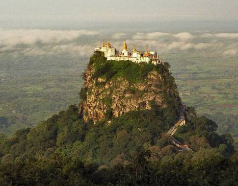 The Monastery Built on a Volcanic Plug | The Blog's Revue by OlivierSC | Scoop.it