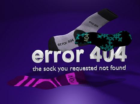 10 Clever Website Error Messages From Creative Companies | Art - Craft - Design- Net | Scoop.it