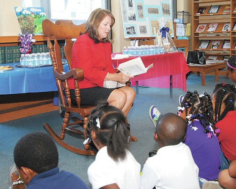 State's first lady visits Maury County | Tennessee Libraries | Scoop.it