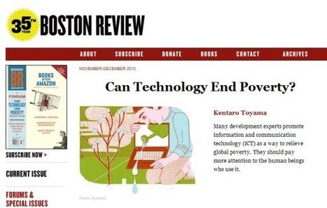 La technologie peut-elle éliminer la pauvreté ? (1/2) : la technologie n'est pas le progrès ! « InternetActu.net | Social medias | Scoop.it