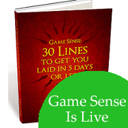 Game Sense Is LIVE for $3! | Top PUAs (Pick Up Artists) | Scoop.it