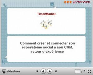 Retour sur la conférence de Matthieu Lluis sur le socialCRM   CRM - Connaissez vos clients   Scoop.it