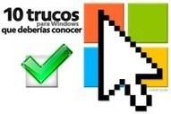 10 trucos para Windows que deberías conocer | Tic educación | Scoop.it